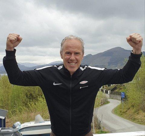 Sportssjef i Brann, Rune Soltvedt var en lykkelig mann etter regjeringens pressekonferanse.