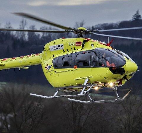 HELT NYTT: Basen blir utstyrt med et helt nytt Airbus H 145 (EC 145 T2) som har båreplass for to pasienter.