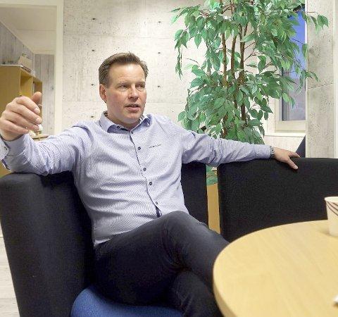 REAGERER: Ole Saltvik sier seg overrasket over opplysninger om at utdannigen av industrimekaniker på Narvik videregående kan bli nedlagt.