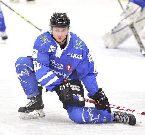 GOD: En av Narvik sine beste backer, Martin Hage, har hatt en solid sesong og levert så langt.