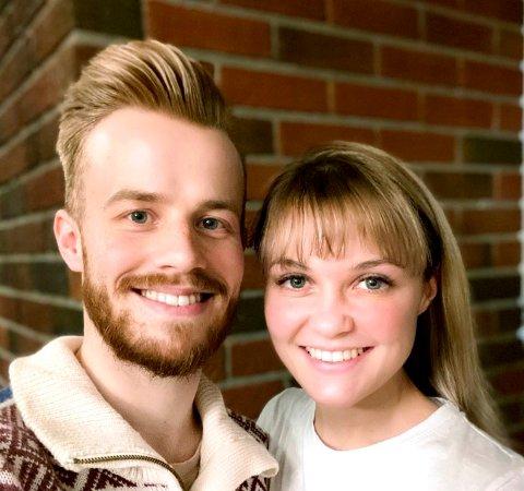 Sondre Olsen-Bye og Tatiana Georgiiveska vil etablere internasjonal bedrift med base på Dombås.