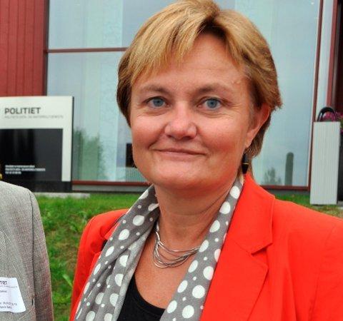 LISTEOPP: Rigmor Aasrud er på listetoppen i Oppland foran stortingsvalget.