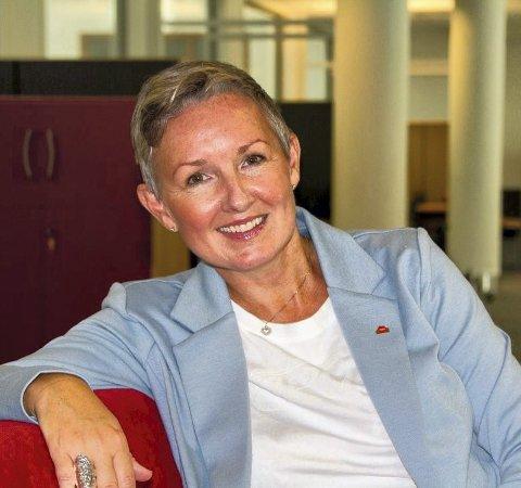 Digital jobbmesse: Avdelingsdirektør hos Nav Vestfold og Telemark, Tone Størseth. Foto: Per Eckholdt