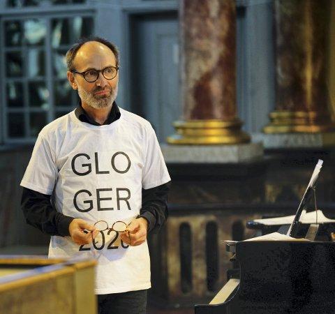 ORGANIST: Bjørn Andor Drage skal spille under flere av Glogerkonsertene.