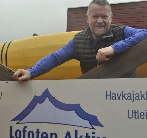 Firma: Jann-Harald har sjelden tid til ferie. Når det likevel skjer, restaurerer han hytta, leser om slekten sin eller kanskje han drar på en kajakktur.