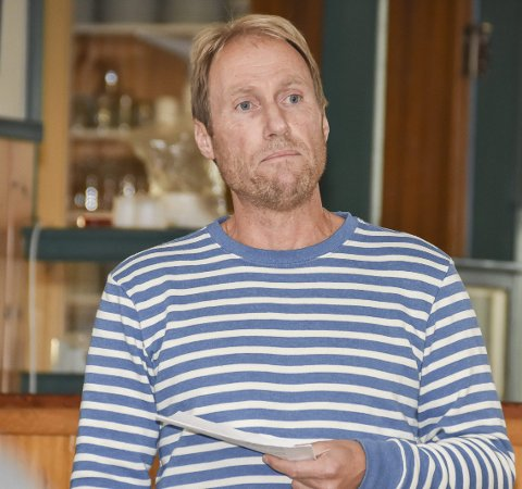 Kritisk: Ronald Aagaard-Nilsen i Skrova innbyggerforening er kritisk til prisøkningene på fergesambandet mellom Svolvær og Skrova.