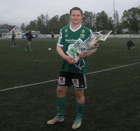 COMEBACK: Vebjørn Grunnvoll gjorde comeback for FIL i dagens kamp mot Alta - og scoret. Her fra fjorårssesongen.