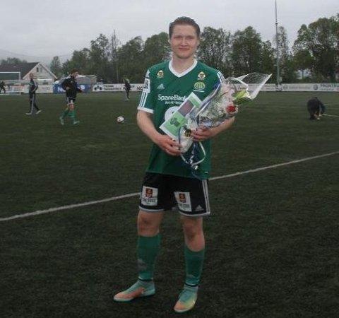 FRISPARKPERLE: Vebjørn Grunnvoll scoret i sin andre kamp på rad etter sykdomsmarerittet.