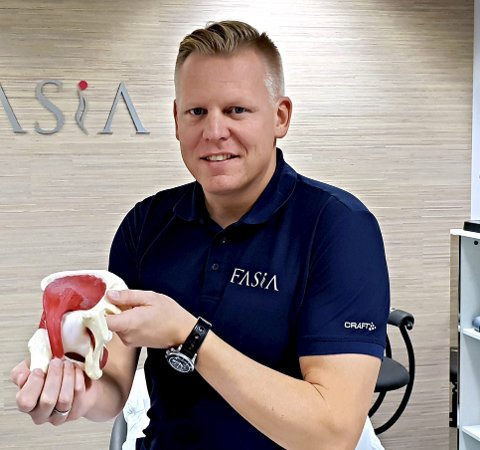 Fredrik Marthiniussen er opptatt av treningen som kan føre til at du slipper en del skadeproblemer.