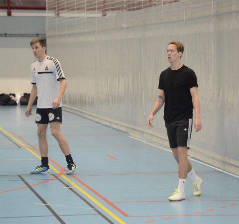 Tilbake: Joachim Olufsen var tilbake i Ranahallen hvor han har spilt så mange ganger før, og igjen spilte han med de samle kameratene som han har spilt sammen med i yngre år. Foto: Stian Forland