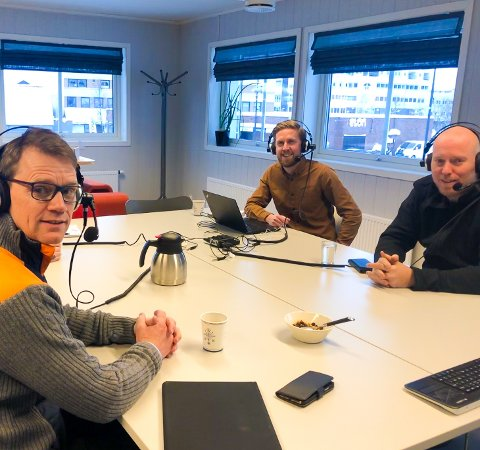 Geir Roger Borgedal og Odd Amund Lundberg gjester RB-podden.