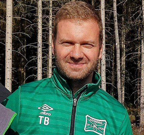 SYND: Leder i Eidsberg IL, Thomas Berg, synes det er trist at Fotballens dag må avlyses.