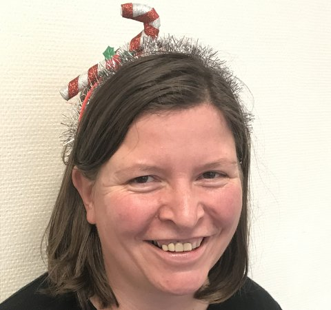 Anja Berggård Endresen kommer i julestemning når mannen kommer med den årlige pakkekalenderen.