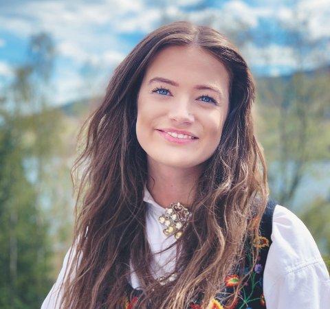 UTFLYTTER: Anne Marte Bang Fossberg er 20 år og kommer fra Fagernes. Nå bor og studerer hun i Bergen.