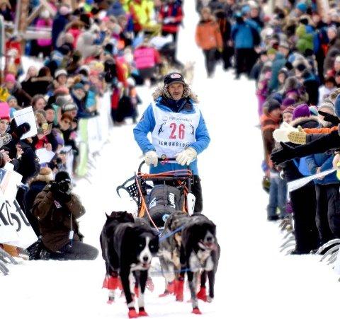 BARN TIL Å HEIE FRAM: Femundløpet ønsker flere barn og unge til å heie fram kjørerne.  Arkivfoto