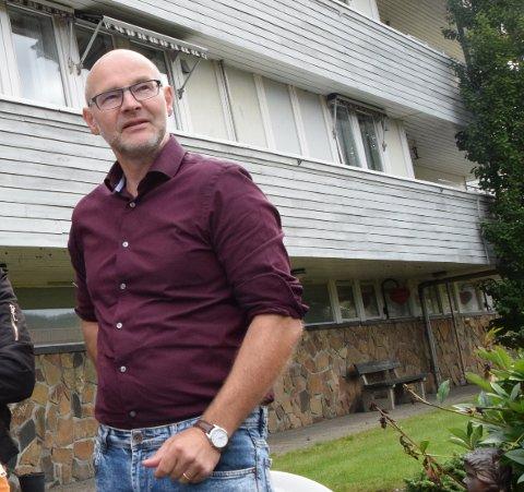 ORDFØRERKANDIDAT: Tron Løvås erkjenner å være skuffet over valgresultatet.