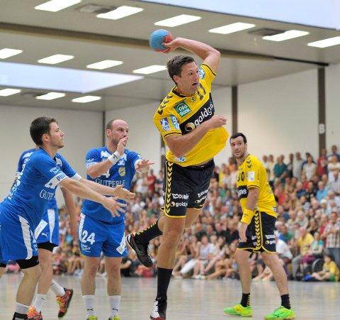 Harald Reinkind og lagkameratene i Rhein-Neckar Löwen måtte prioritere hardt lørdag.