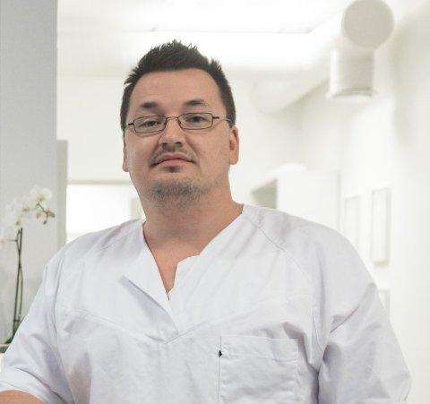 STYRELEIAR: Anders Rosø (39) er styreleiar i SKARP UTVIKLING AS.