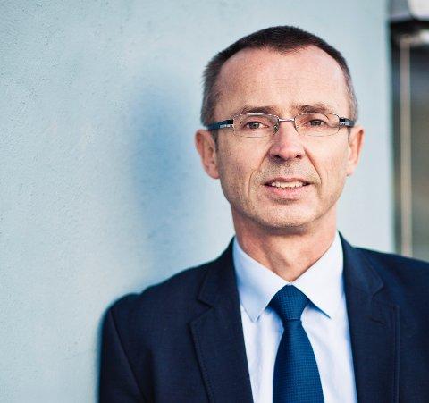 TIL VURDERING: Direktør for Domstoladministrasjonen Svein Marius Urke sier det vurderes felles ledelse mellom domstolene på Stord og i Haugesund.