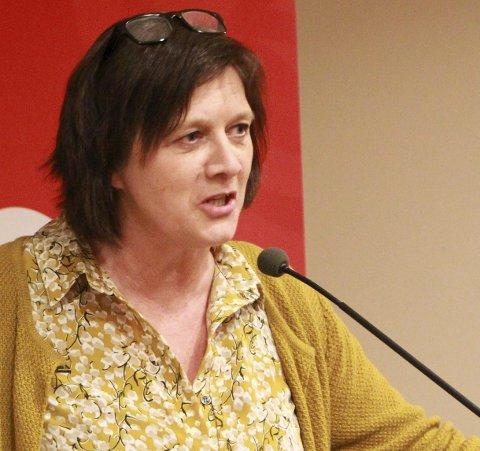 LIK REPRESENTASJON: Leder Kristina Hansen i Finnmark Arbeiderparti sier at de i utgangspunktet krever lik representasjon for å oppnevne representanter til fellesnemnda.