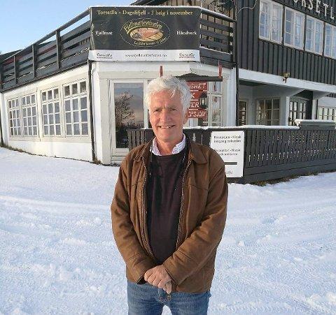 FORNØYD: Reino Skjøtskift er meget fornøyd med årets Fjellmatfestival på Torsetlia på Dagalifjell.
