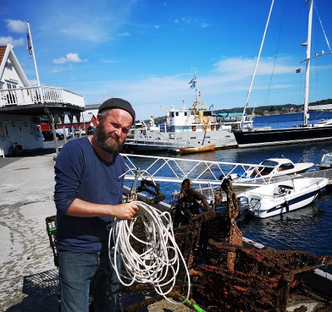Miljøpris: Plastpiratene er Andreas Branvoll er nominert til Oslo miljøpris. Foto: Privat