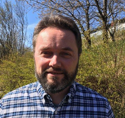SVARER FRP: MDGs leder i Nedre Eiker, Sverre Andersen.