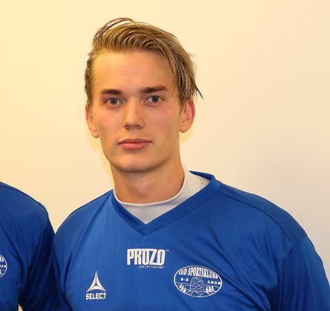 Christoffer Moen Ståhl scoret seiersmålet for Idd 2 mot Aremark.