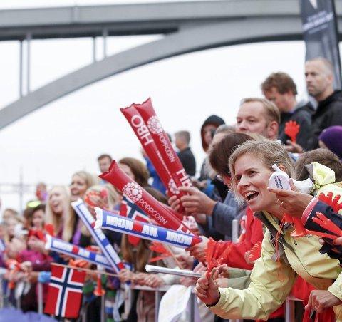 FOLKEFEST: Ironman er et flott arrangement og positivt for Haugesund og regionen. Foto: Jan Kåre Ness