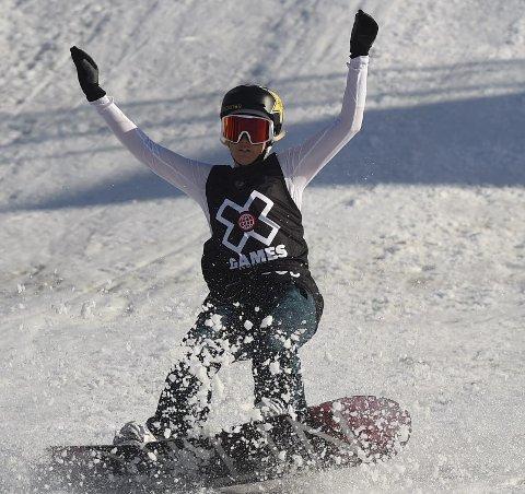 SJETTEPLASS: KIF-jenta Silje Norendal ble nummer seks i slopestylefinalen i Breckenridge i USA.