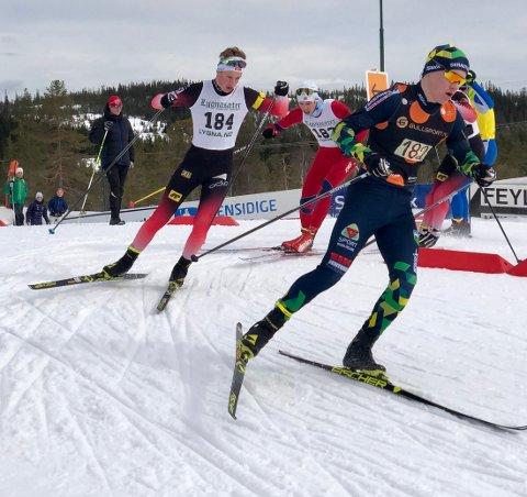 Sigurd Øygard gikk til topps i G16 i Lygnasætersprinten.