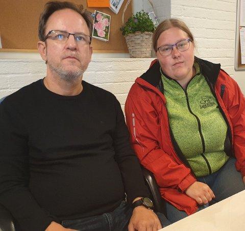 Listekandidat Henning Gjerdi Soltvedt og Nestleder Anita Ulvseth