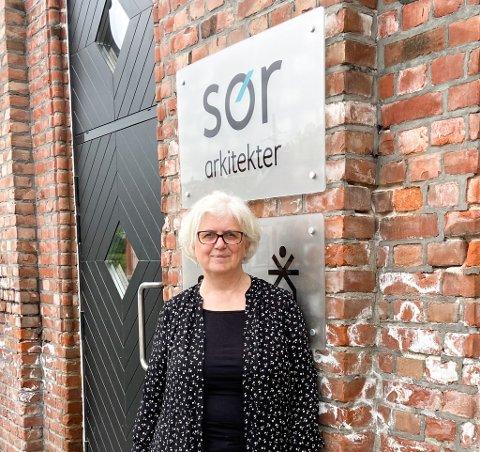 FINALIST: Ingrid Kvissel fra Sør Arkitekter er leder for teamet som har kommet videre til finalen i Gnist-programmet.