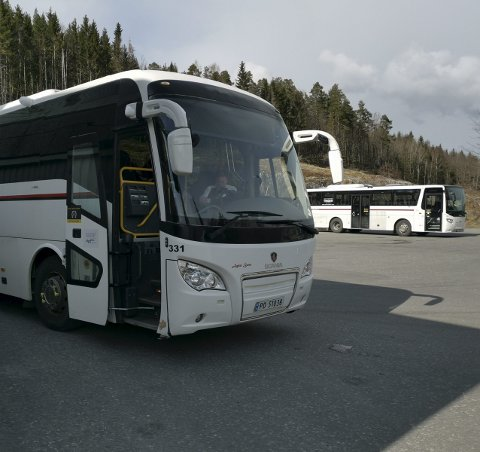Bergsmyr: En busstreik vil ramme Tvedestrand hardt.