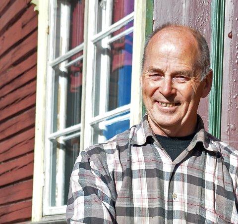 KLAR FOR NY DUGNAD: Ole Gunnar Monsen foran lokalet Folkvang.