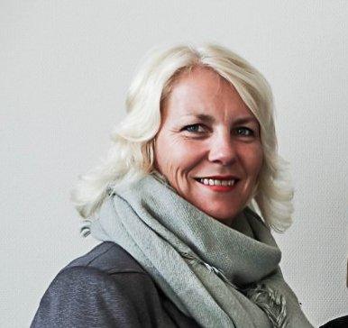 KARANTENE OG ISOLASJON: - Nå er det 28 pasienter og 11 ansatte som er satt i karantene, og en ansatt er satt i isolasjon, sier enhetsleder i hjemmebaserte tjenester, Marianne Horgen.