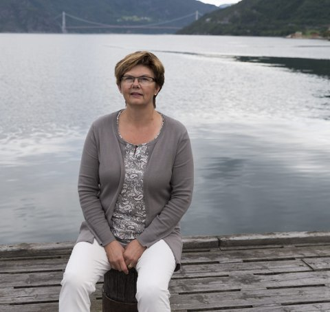 Bekymra: Styreleiar for brua, Solfrid Borge, trur ikkje regjeringa veit konsekvensane av nye regionale bompengeselskap.