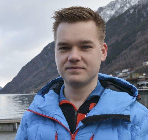 Foreslo bøter: Andreas Jacobsen, kommunestyrepresentant for Raudt Ullensvang, trakk senere forslaget. Arkivfoto