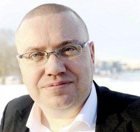 Befaring: Arve Høiberg, tar med seg hovedutvalg for samferdsel til Holmestrand.