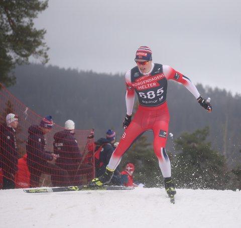 Hviler seg i form: Andreas Kirkeng ble litt for ivrig inn mot sesongåpningen på Beitostølen. Nå hviler 20-åringen seg i form til norgescuprennet på Lillehammer førstkommende helg.