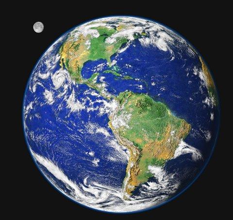 Tekst til bilde nr 20050330-025:Det står dårlig til med jordas helsetilstand, er konklusjonen i en ny FN-rapport. (Foto: NASA) *** Local Caption *** Jorda