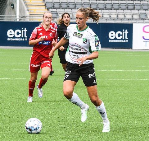 BANENS BESTE: Emilie Finnevolden var en stadig trussel på topp, og satte inn tre klassescoringer.
