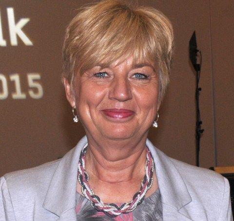 Leder Erna Hagensen i Norsk Arbeidsmandsforbund.