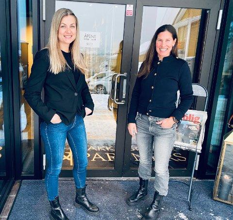 FORNØYDE: Fjoråret gikk bedre enn forventet for meglerkontoret til Elisabeth S. Bakke og Jeanette Sørvik i Bakke Sørvik & Partners AS.