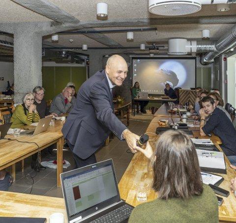 Nytt: Odd-Arild Bugge er nå kommunedirektør.