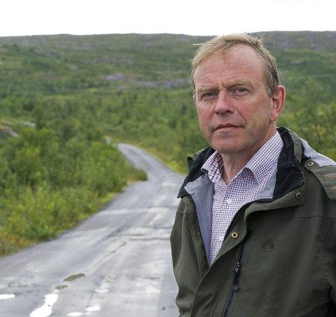 VANT: Ordfører Petter Jørgen Pedersen.Foto: Johan Votvik
