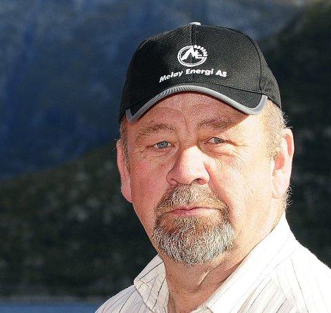 Styreleder: Kjell Sahl (H).Foto: Johan Votvik