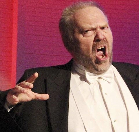 Sang: Ketil Hugaas er en av to solister i kulturhuset Utsikten.