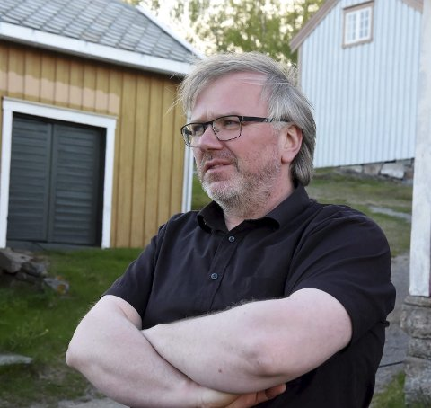 Ny sjef: Arne André Solvang kan bli ny sjef på Hamsunsenteret.