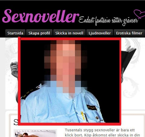 En politimann er siktet for å ha lest barnepornografiske skildringer på en svensk nettside. Han nekter for har gjort noe straffbart.